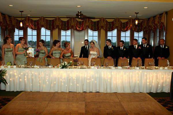 wedding decoration for reception golf course weddings st augustine host a reception at 9040